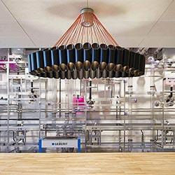 Industriearchitektur: Neuer Praxisraum für das Geberit Informationszentrum in Lausanne