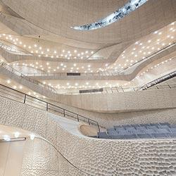 Gipsfaserplatten für die Elbphilharmonie in Hamburg