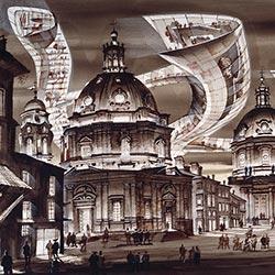 Ausstellung: Visionen / Projektionen - Sergei Tchoban