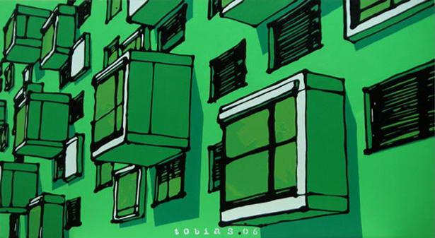 Tobias weber urbane r ume mit tuben zeichnen for Architekt alternative jobs