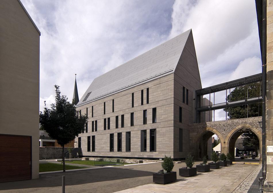 Architekturbüro Erfurt neubau der bibliothek im erfurter augustinerkloster