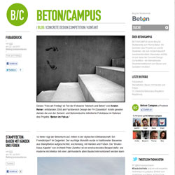 Blog BETON/CAMPUS