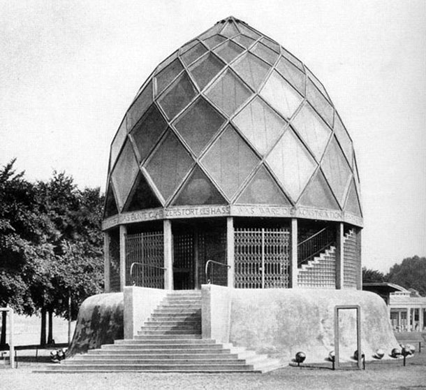Bruno Taut, Glaspavillon 1914