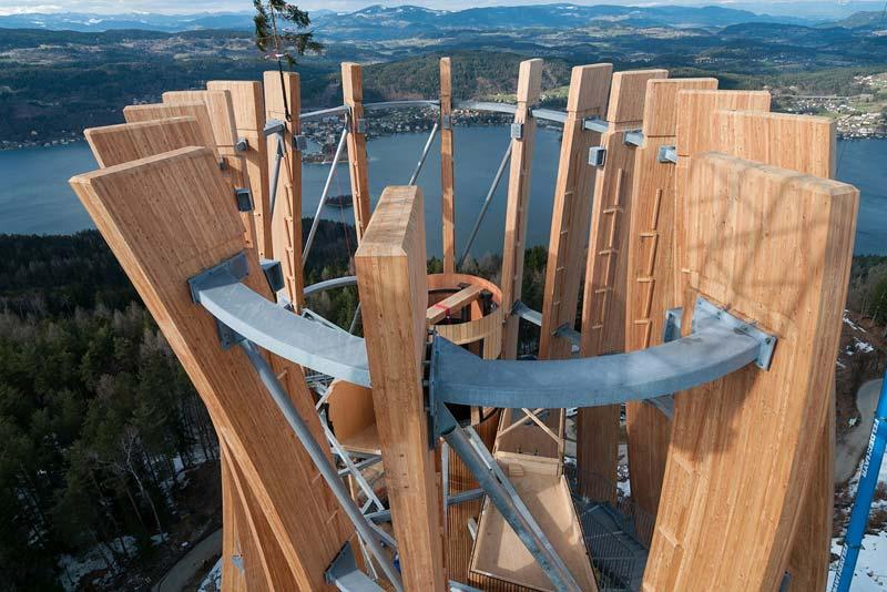 100 Höhenmeter Aus Holz Und Stahl