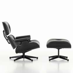 Eames Lounge Chair und Ottomane