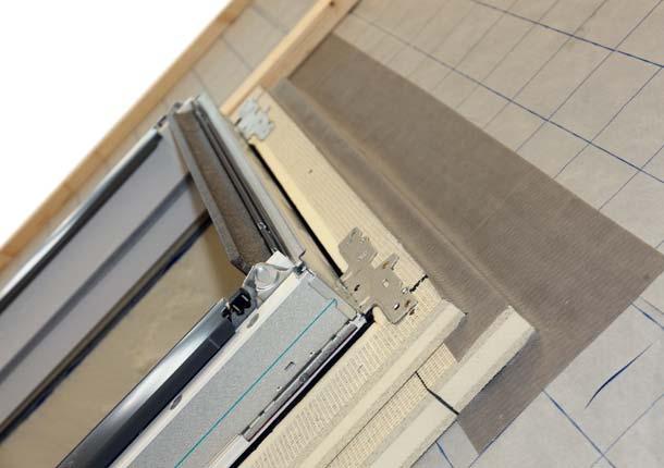 Dammzarge Optimiert Warmeschutz Am Dachfenster
