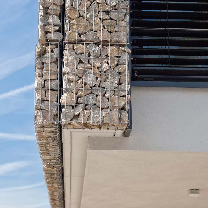 Gabionen Als Fassade Mit Integierter Warmedammung