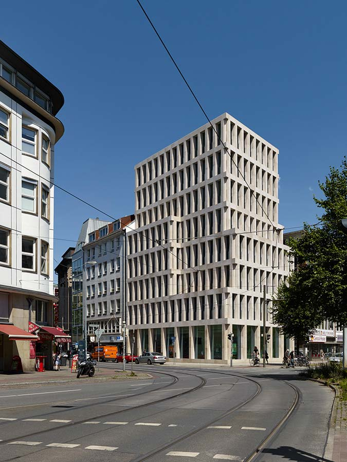 Stadthaus bahnhofstrasse in bremen von max dudler - Architekten bremen ...