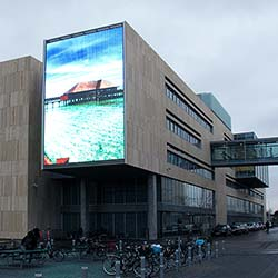 Medienfassade von  Arkitema Architects in Kopenhagen