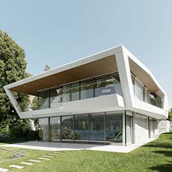Architektur mit geformtem Beton von project A01 architects