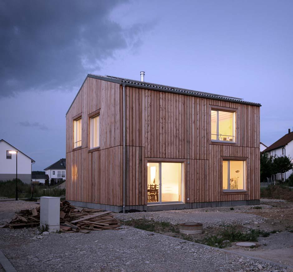 Einfamilienhaus Von Fesselet Krampulz Architekten