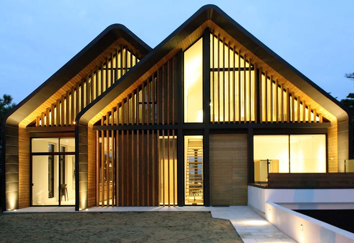 Modernes Landhaus Von Didier Rebeyrol Et Xavier Fernandez