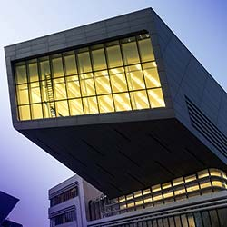Zaha Hadid: das Learning and Library Center in Wien