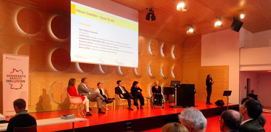 Konferenz Inklusion Barrierefreie Räume Planen