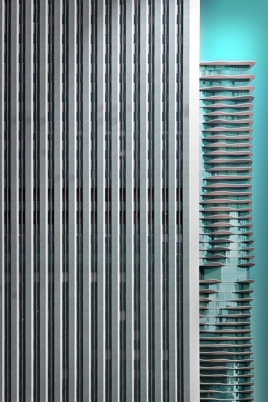 Chicago Facade Aqua Tower Architekturfotograf Rolf Mauer
