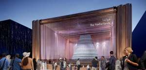 Design of Dutch pavilion for Dubai EXPO 2020 by V8 Architects